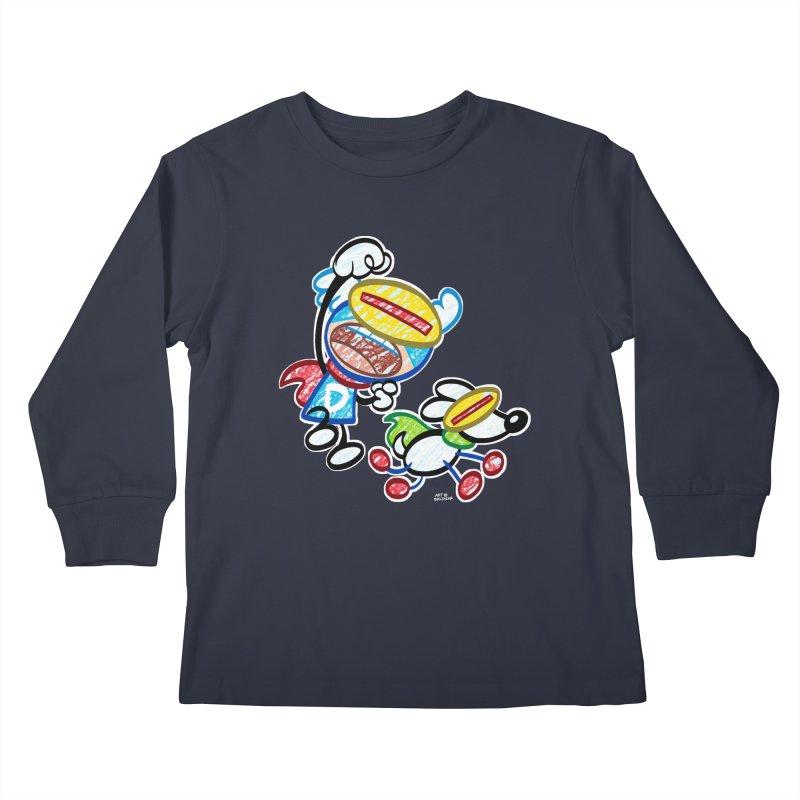 DREW & JOT Kids Longsleeve T-Shirt by Art Baltazar