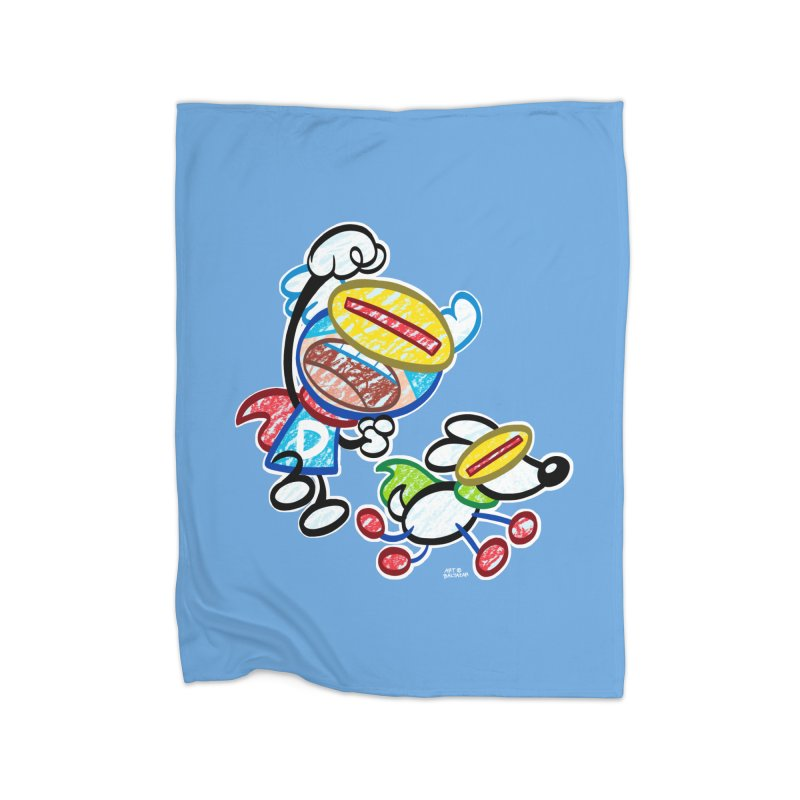 DREW & JOT Home Blanket by Art Baltazar