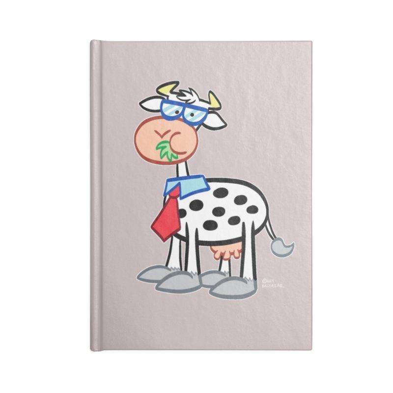 SECRET IDENTITY COW Accessories Notebook by Art Baltazar