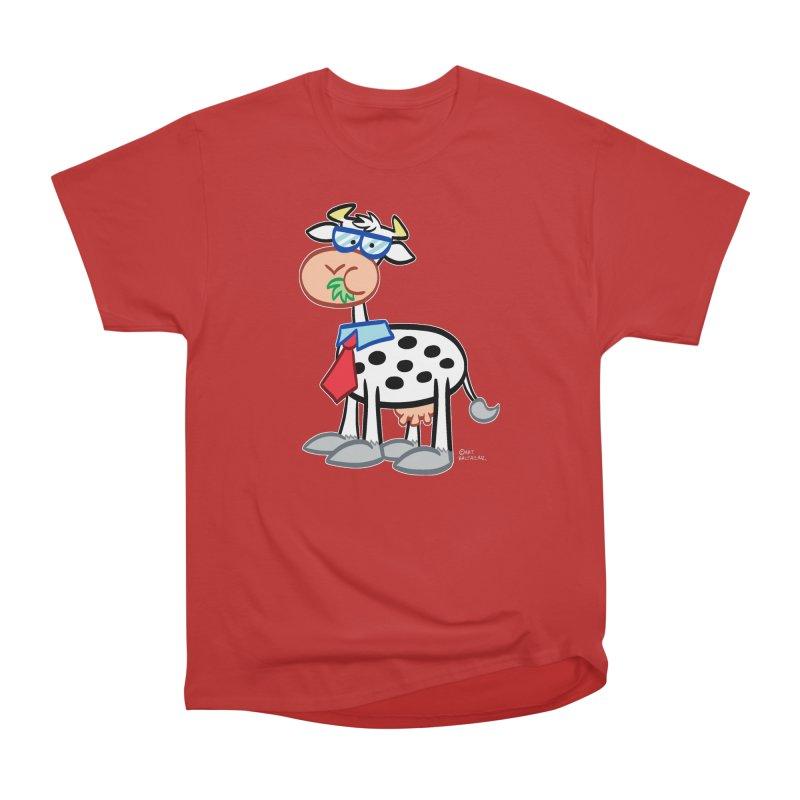 SECRET IDENTITY COW Women's T-Shirt by Art Baltazar