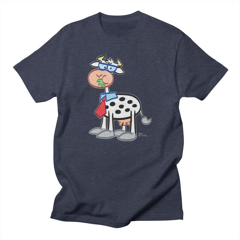 SECRET IDENTITY COW Men's T-Shirt by Art Baltazar