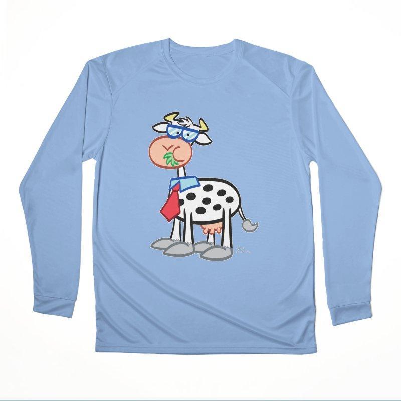 SECRET IDENTITY COW Men's Longsleeve T-Shirt by Art Baltazar