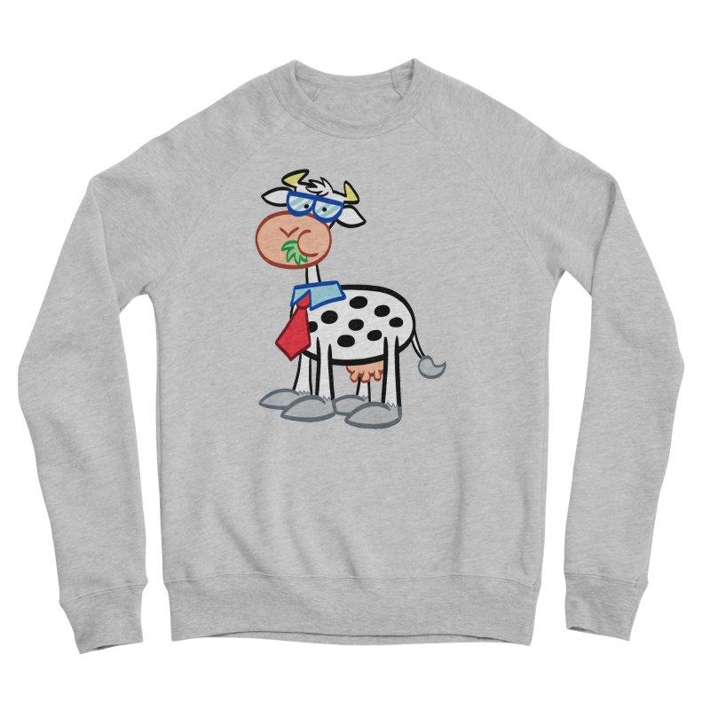 SECRET IDENTITY COW Women's Sweatshirt by Art Baltazar