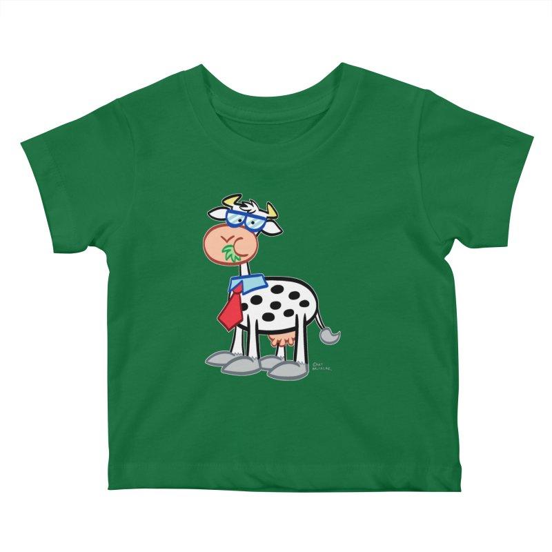 SECRET IDENTITY COW Kids Baby T-Shirt by Art Baltazar