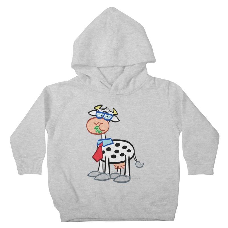 SECRET IDENTITY COW Kids Toddler Pullover Hoody by Art Baltazar