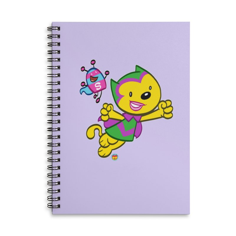 ACTION CAT & SHELLY Accessories Notebook by Art Baltazar