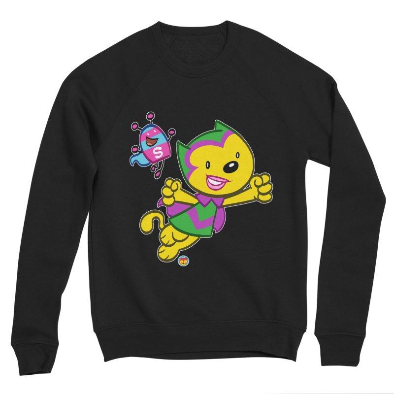 ACTION CAT & SHELLY Women's Sweatshirt by Art Baltazar