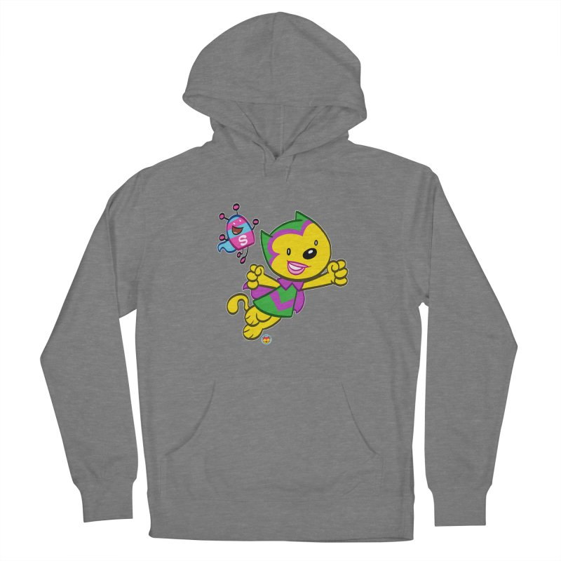 ACTION CAT & SHELLY Women's Pullover Hoody by Art Baltazar