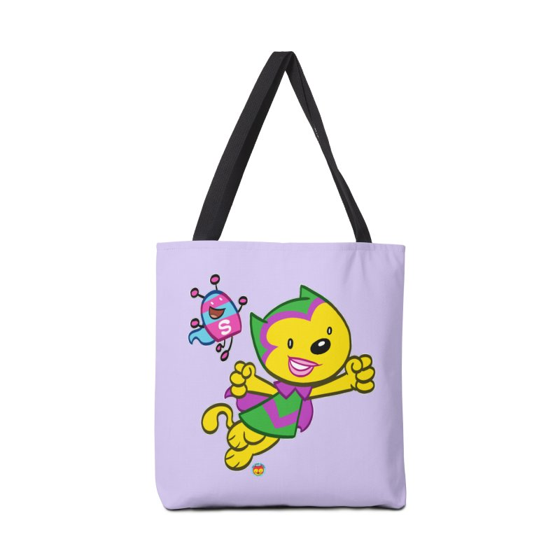 ACTION CAT & SHELLY Accessories Bag by Art Baltazar