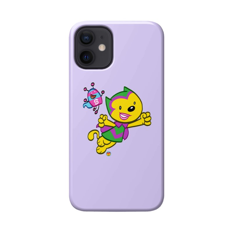 ACTION CAT & SHELLY Accessories Phone Case by Art Baltazar