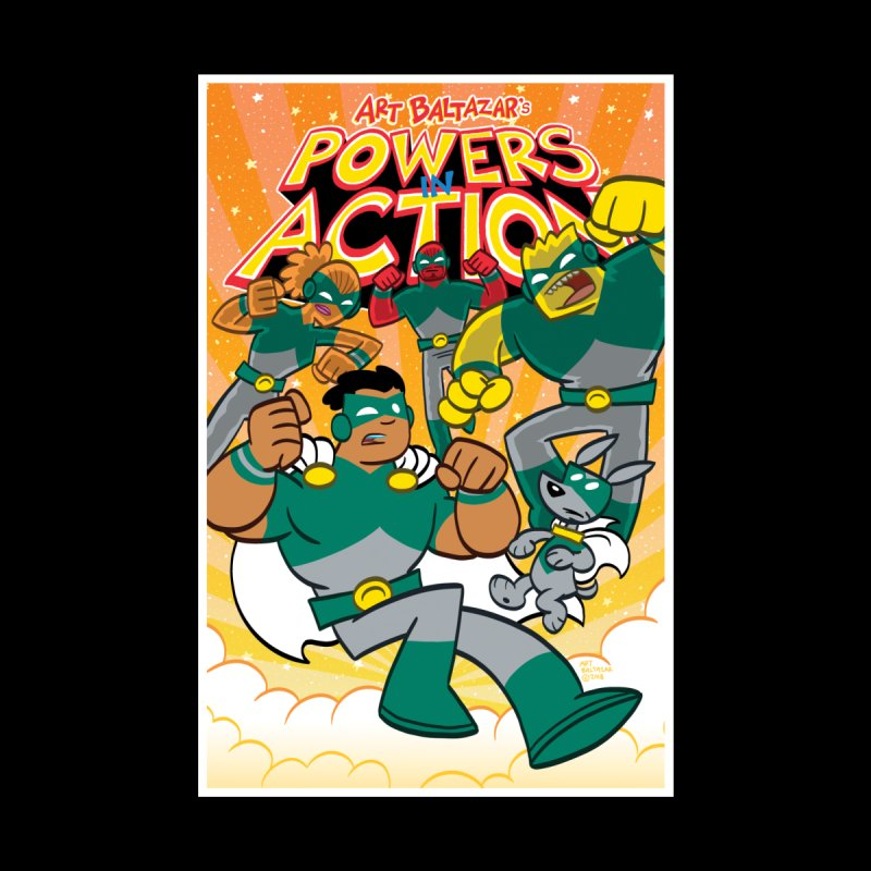 POWERS IN ACTION #4 COVER! Accessories Face Mask by Art Baltazar