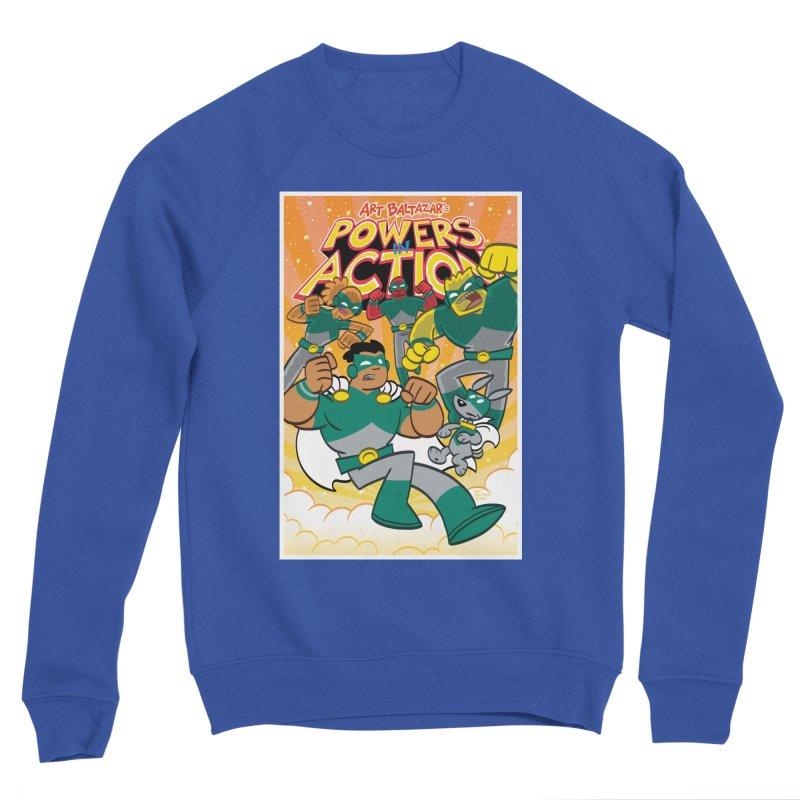 POWERS IN ACTION #4 COVER! Men's Sweatshirt by Art Baltazar