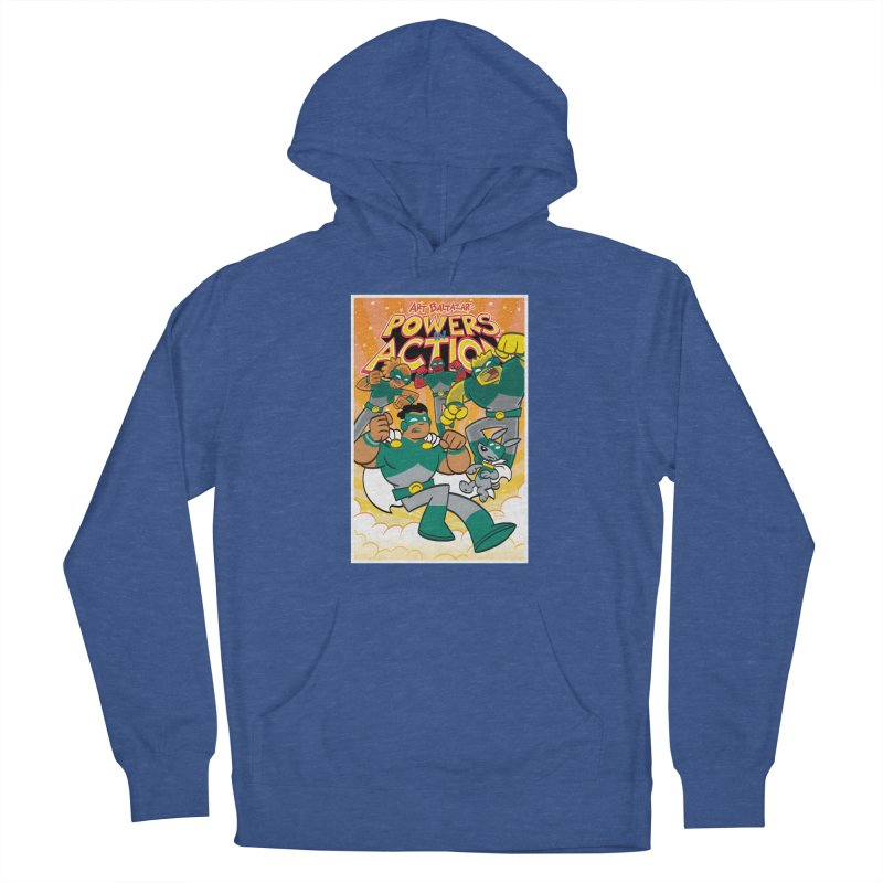 POWERS IN ACTION #4 COVER! Women's Pullover Hoody by Art Baltazar