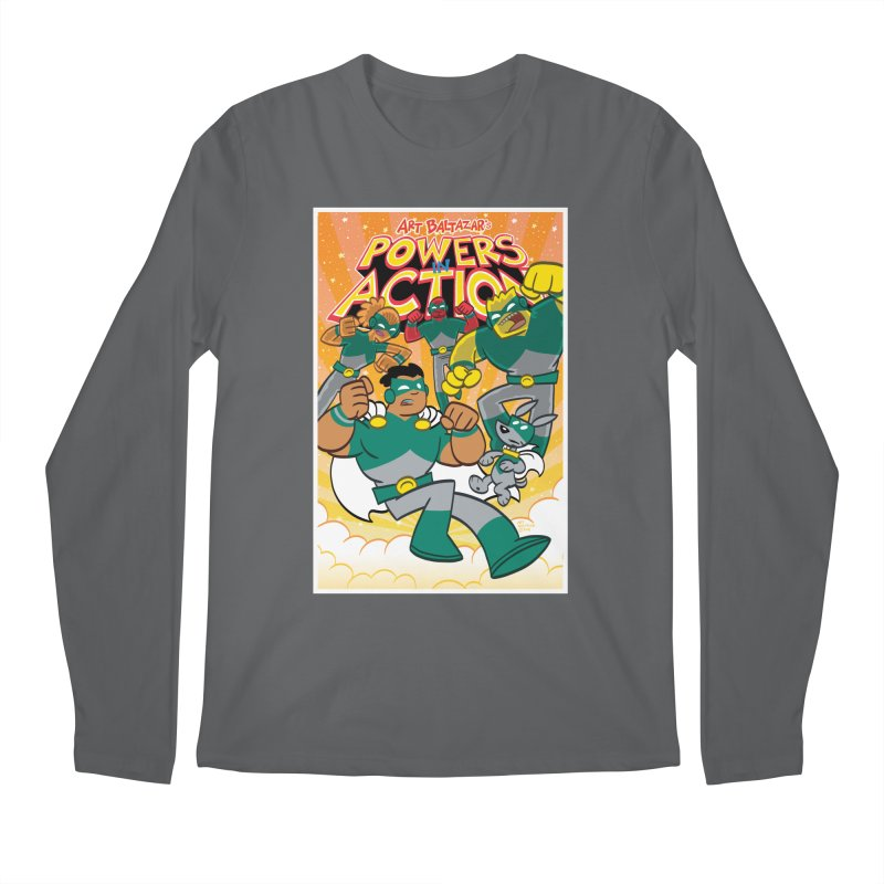 POWERS IN ACTION #4 COVER! Men's Longsleeve T-Shirt by Art Baltazar