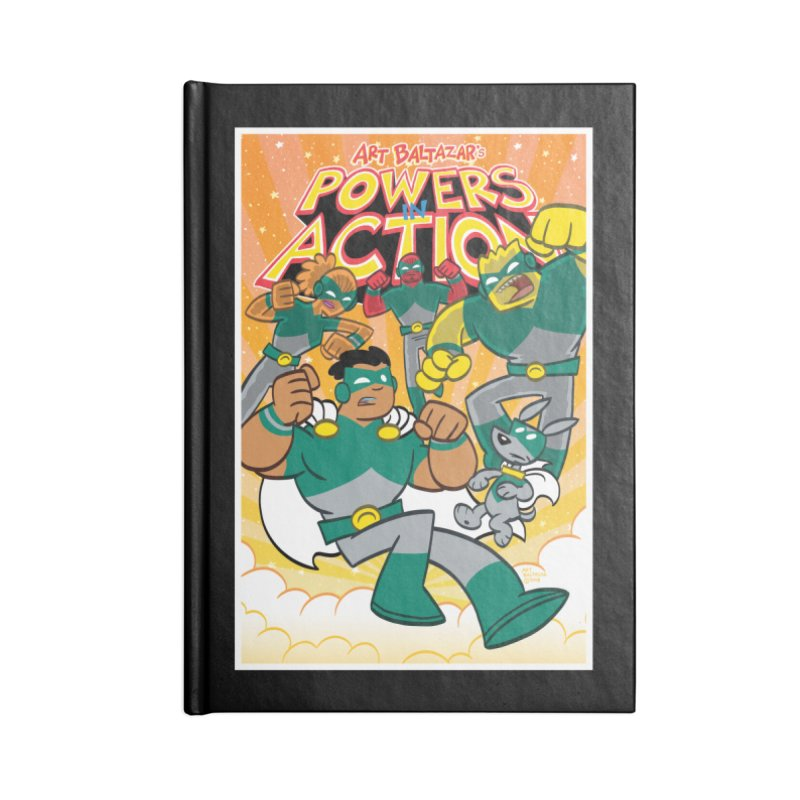 POWERS IN ACTION #4 COVER! Accessories Notebook by Art Baltazar
