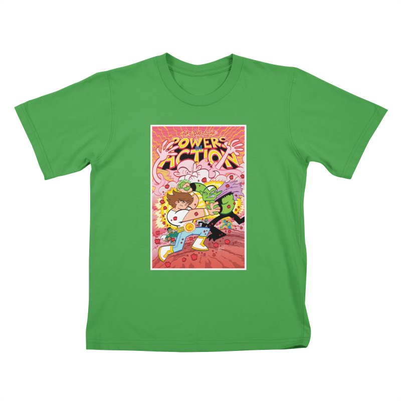 POWERS IN ACTION #3 COVER! Kids T-Shirt by Art Baltazar