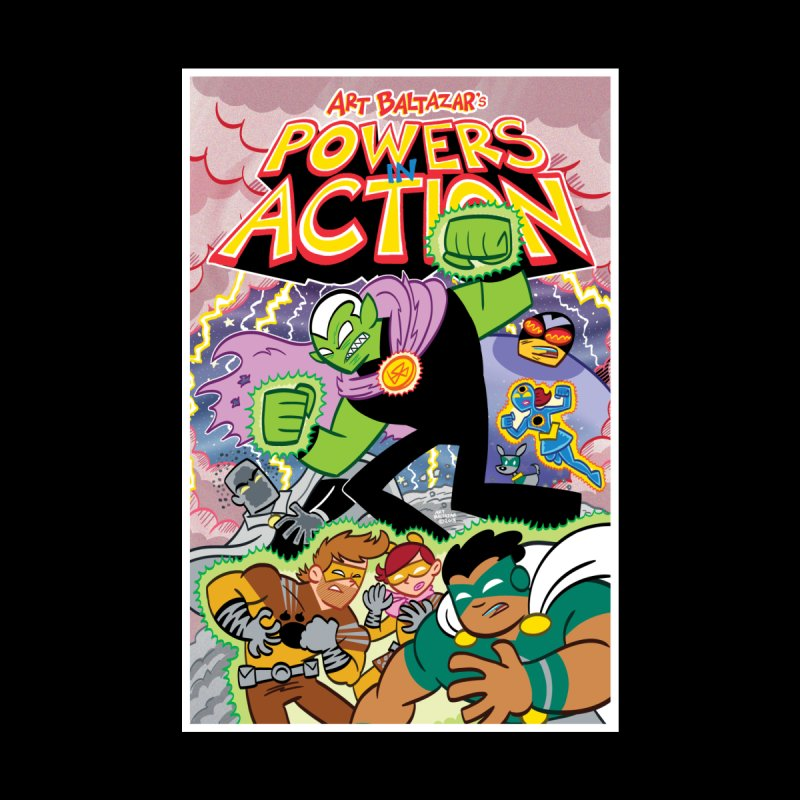 POWERS IN ACTION #2 COVER! Women's Sweatshirt by Art Baltazar