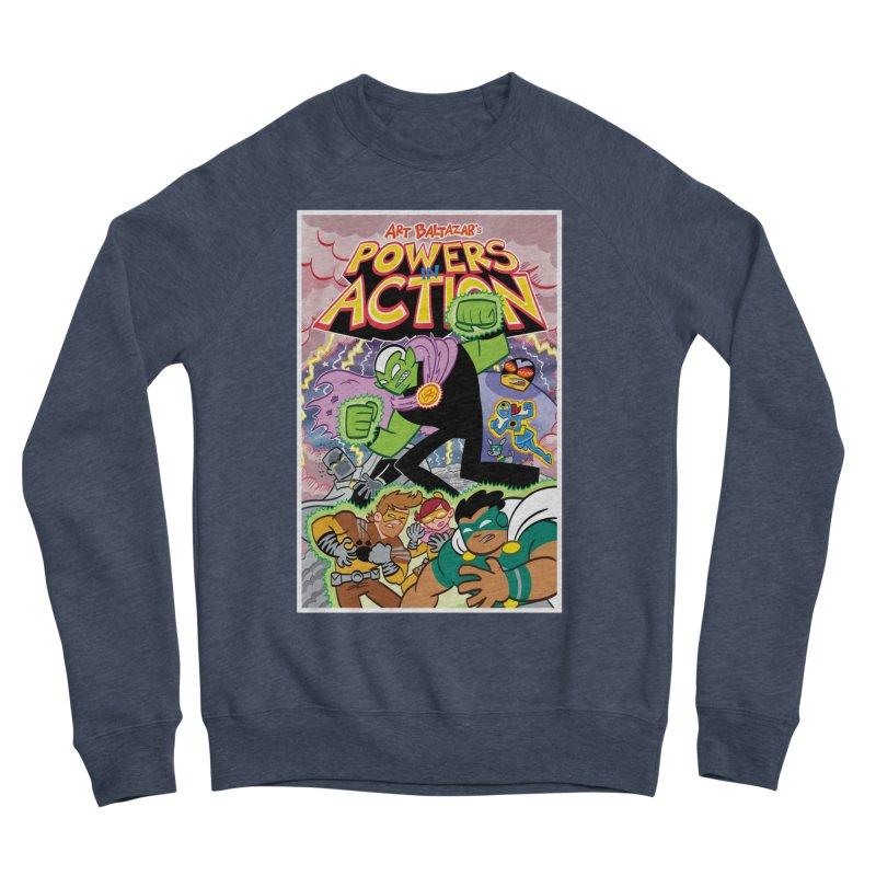 POWERS IN ACTION #2 COVER! Women's Sweatshirt by Art Baltazar