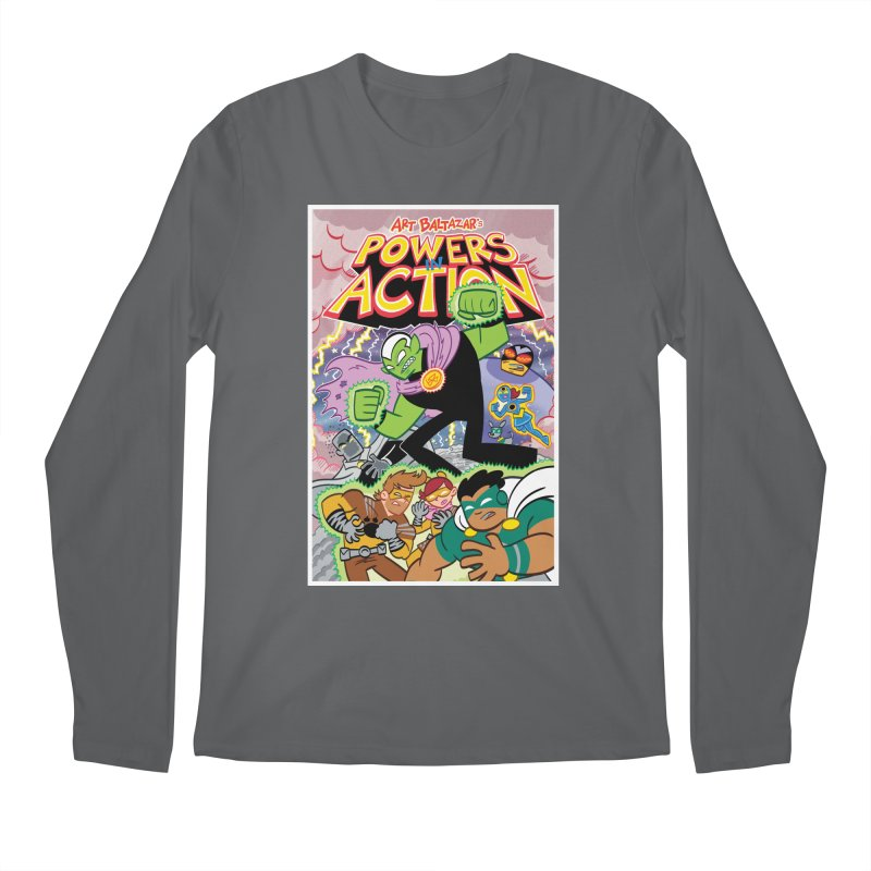 POWERS IN ACTION #2 COVER! Men's Longsleeve T-Shirt by Art Baltazar