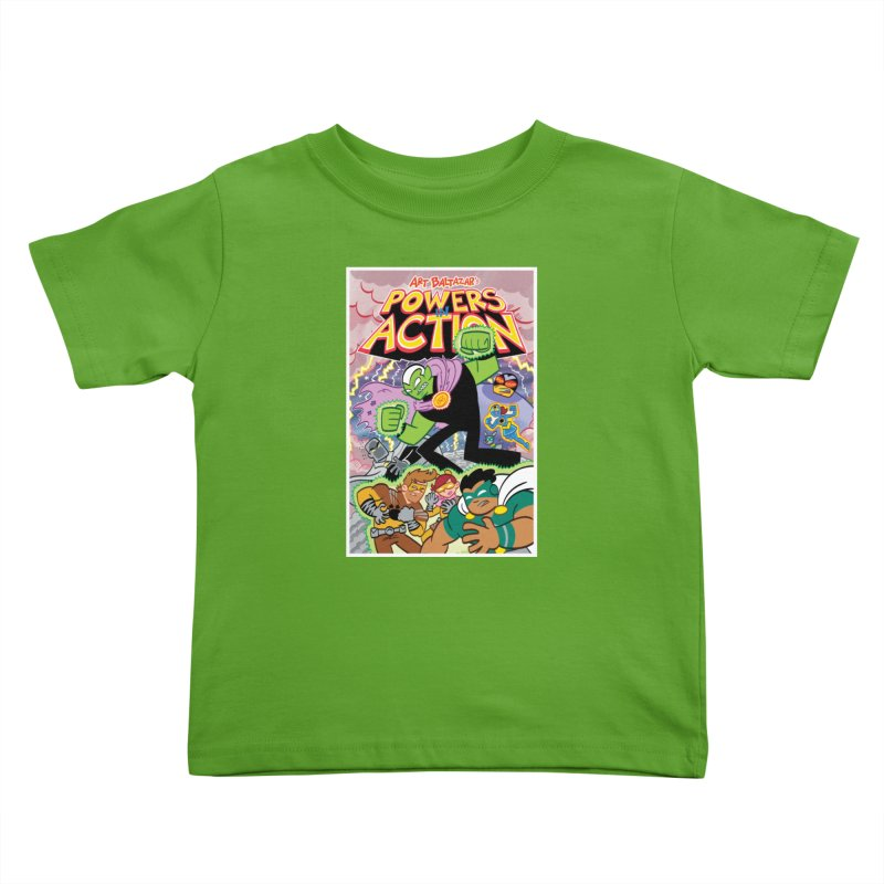 POWERS IN ACTION #2 COVER! Kids Toddler T-Shirt by Art Baltazar