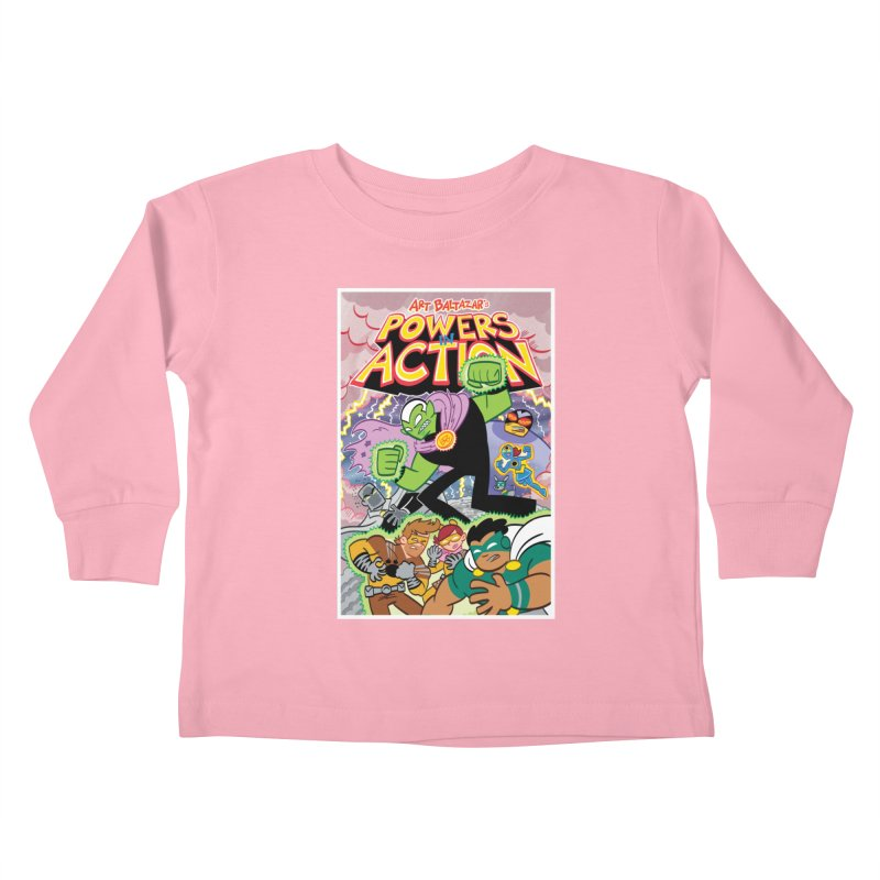 POWERS IN ACTION #2 COVER! Kids Toddler Longsleeve T-Shirt by Art Baltazar