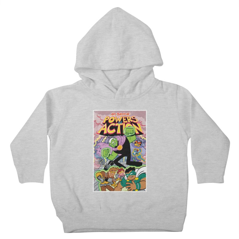 POWERS IN ACTION #2 COVER! Kids Toddler Pullover Hoody by Art Baltazar