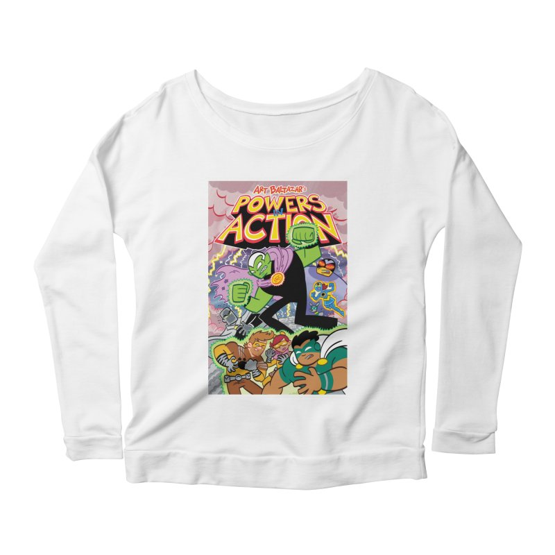 POWERS IN ACTION #2 COVER! Women's Longsleeve T-Shirt by Art Baltazar