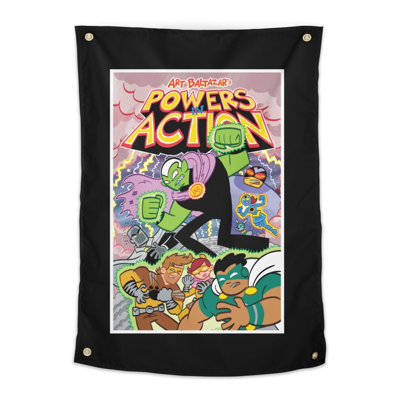 POWERS IN ACTION #2 COVER! Home Tapestry by Art Baltazar