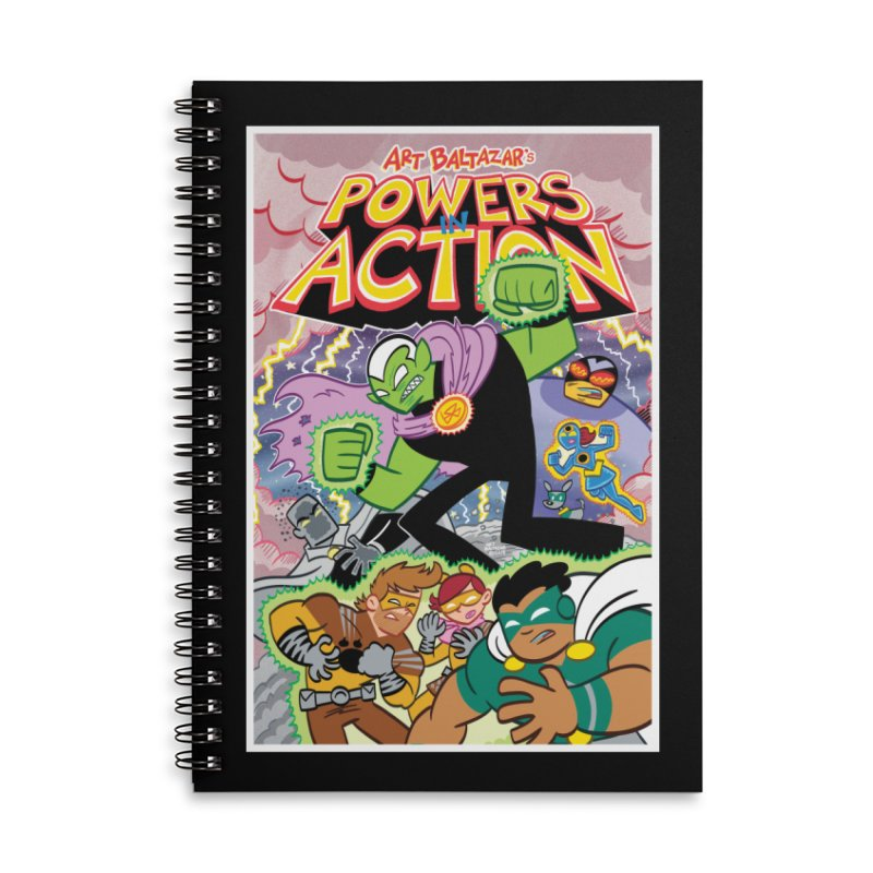 POWERS IN ACTION #2 COVER! Accessories Notebook by Art Baltazar
