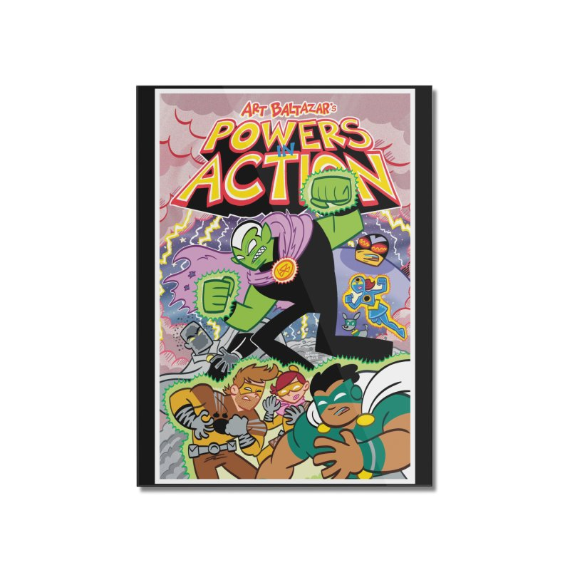 POWERS IN ACTION #2 COVER! Home Mounted Acrylic Print by Art Baltazar