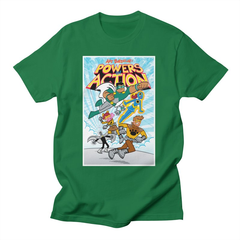 POWERS IN ACTION #1 COVER! Men's T-Shirt by Art Baltazar