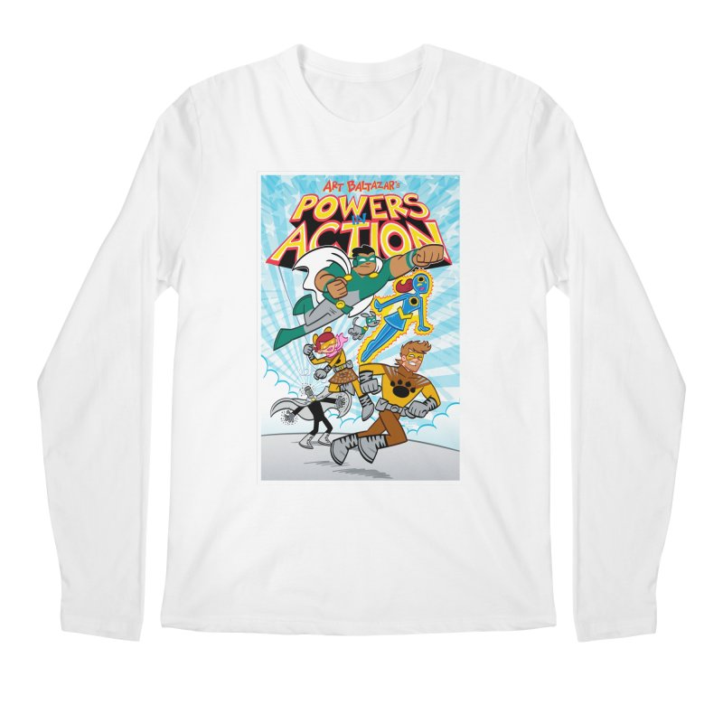 POWERS IN ACTION #1 COVER! Men's Longsleeve T-Shirt by Art Baltazar