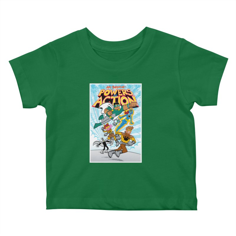 POWERS IN ACTION #1 COVER! Kids Baby T-Shirt by Art Baltazar