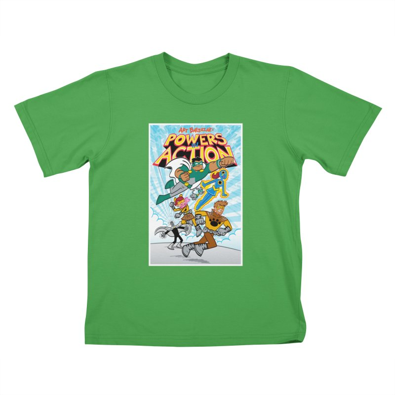 POWERS IN ACTION #1 COVER! Kids T-Shirt by Art Baltazar