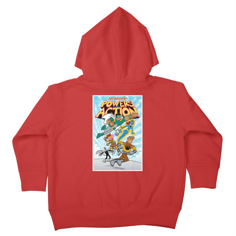 POWERS IN ACTION #1 COVER! Kids Toddler Zip-Up Hoody by Art Baltazar