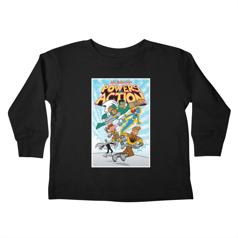 POWERS IN ACTION #1 COVER! Kids Toddler Longsleeve T-Shirt by Art Baltazar