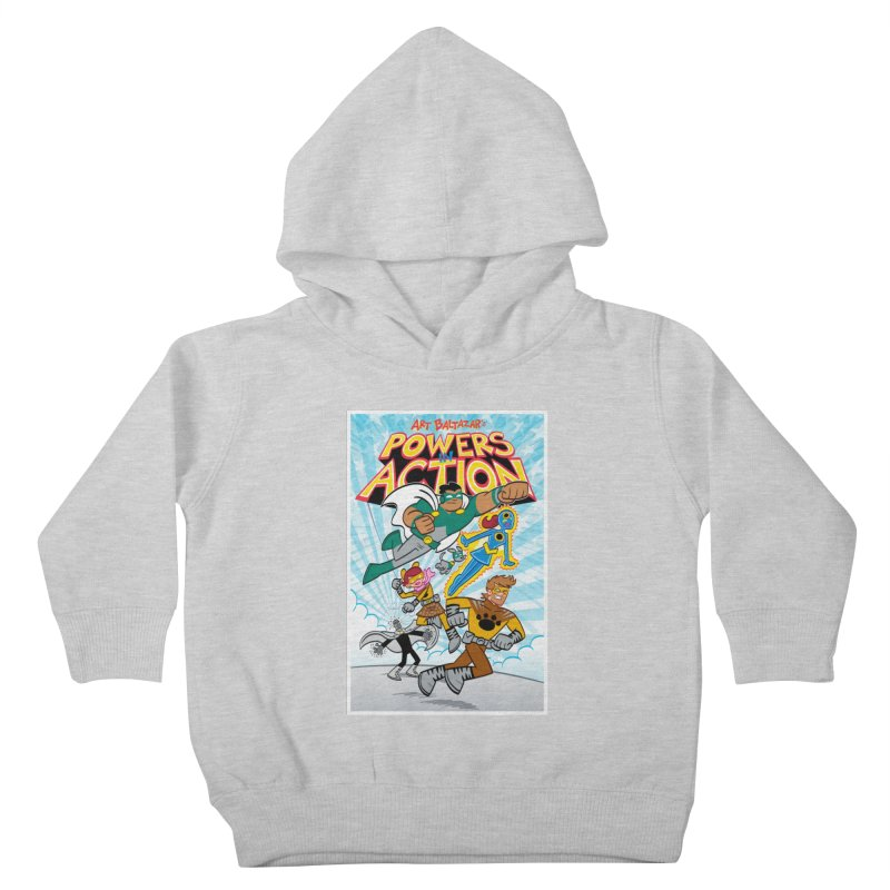 POWERS IN ACTION #1 COVER! Kids Toddler Pullover Hoody by Art Baltazar