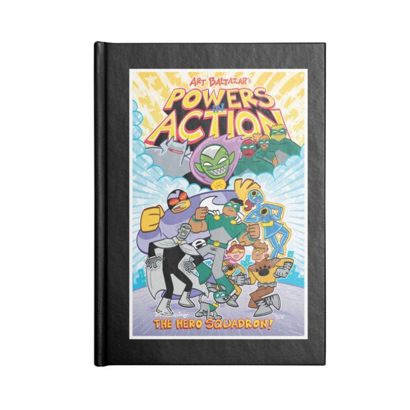 POWERS IN ACTION: THE HERO SQUADRON! Accessories Notebook by Art Baltazar