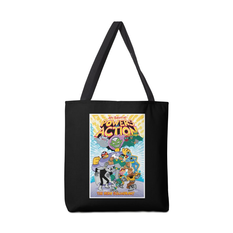 POWERS IN ACTION: THE HERO SQUADRON! Accessories Bag by Art Baltazar