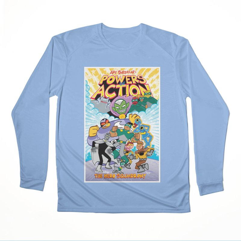 POWERS IN ACTION: THE HERO SQUADRON! Women's Longsleeve T-Shirt by Art Baltazar