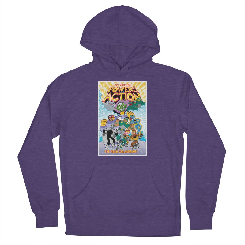 POWERS IN ACTION: THE HERO SQUADRON! Women's Pullover Hoody by Art Baltazar