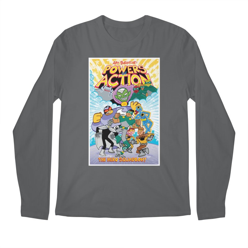 POWERS IN ACTION: THE HERO SQUADRON! Men's Longsleeve T-Shirt by Art Baltazar