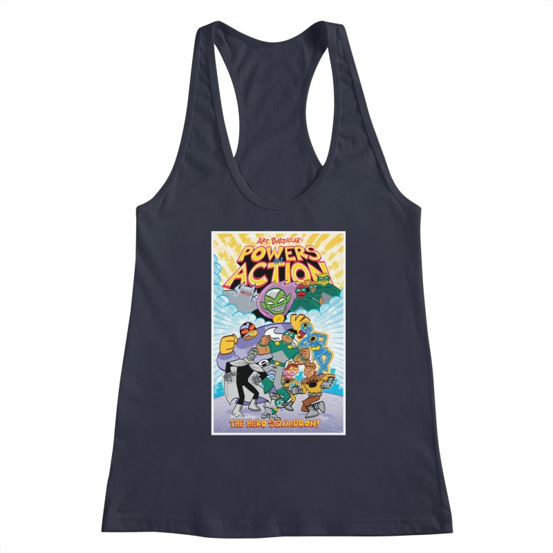 POWERS IN ACTION: THE HERO SQUADRON! Women's Tank by Art Baltazar