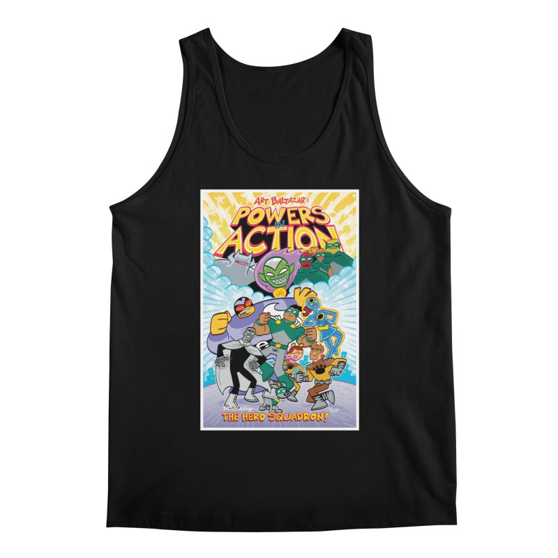 POWERS IN ACTION: THE HERO SQUADRON! Men's Tank by Art Baltazar
