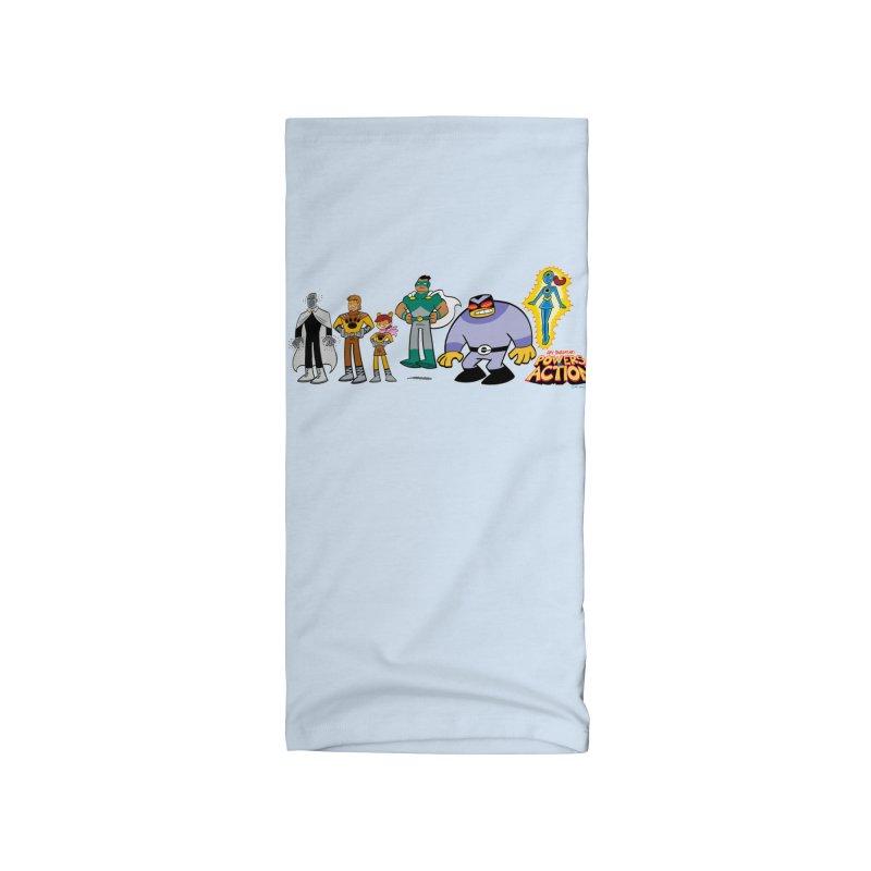 The HERO SQUADRON Line-Up! Accessories Neck Gaiter by Art Baltazar