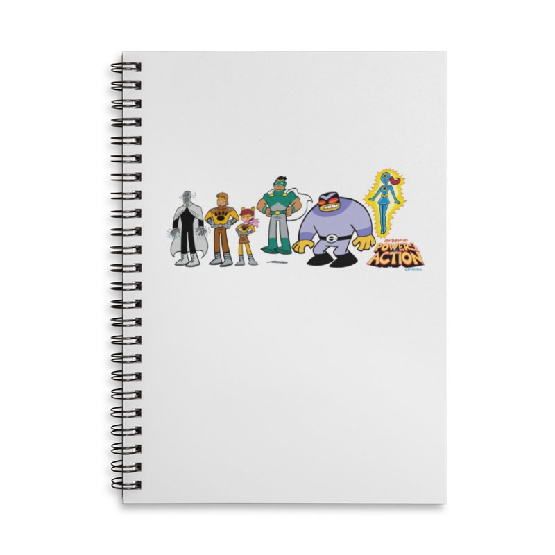 The HERO SQUADRON Line-Up! Accessories Notebook by Art Baltazar