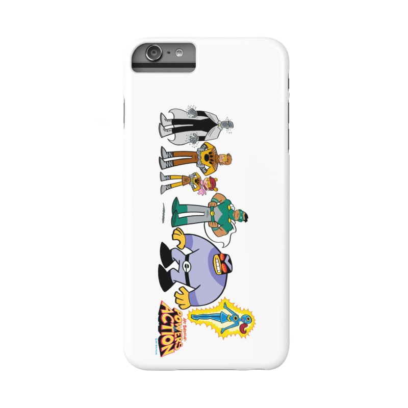 The HERO SQUADRON Line-Up! Accessories Phone Case by Art Baltazar