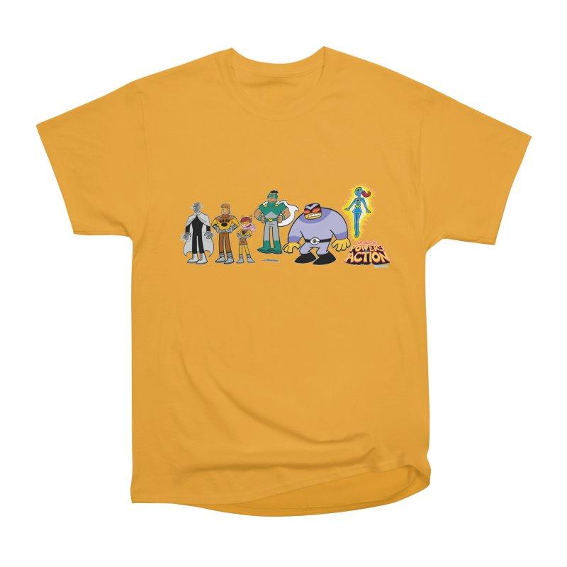 The HERO SQUADRON Line-Up! Men's T-Shirt by Art Baltazar