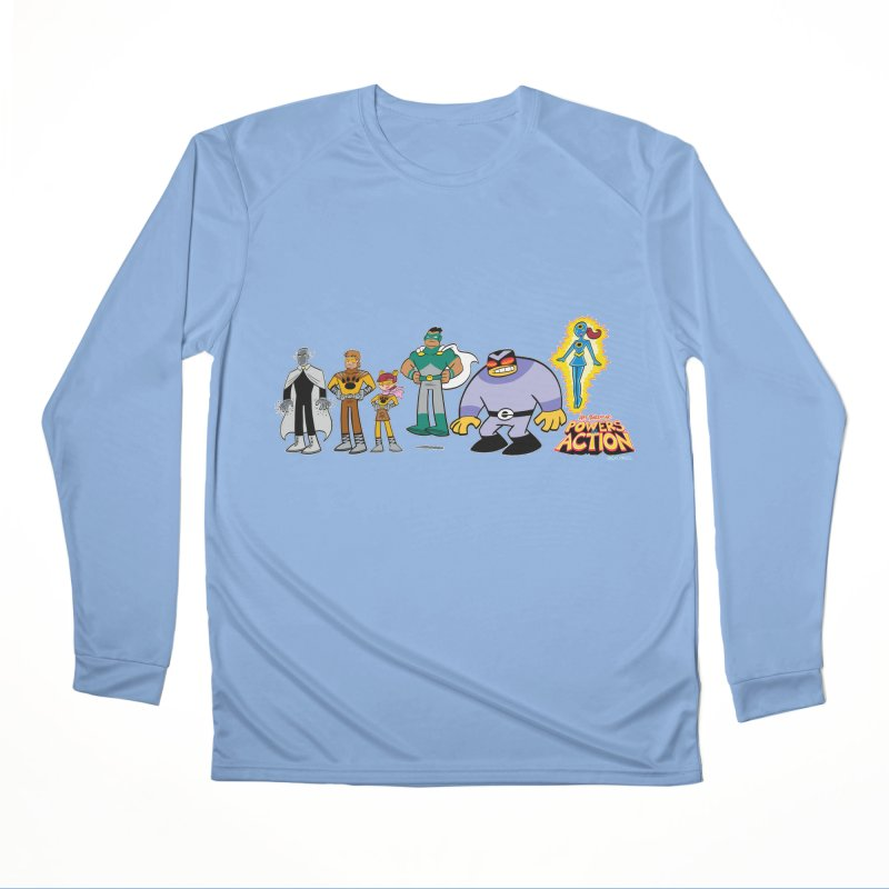 The HERO SQUADRON Line-Up! Men's Longsleeve T-Shirt by Art Baltazar