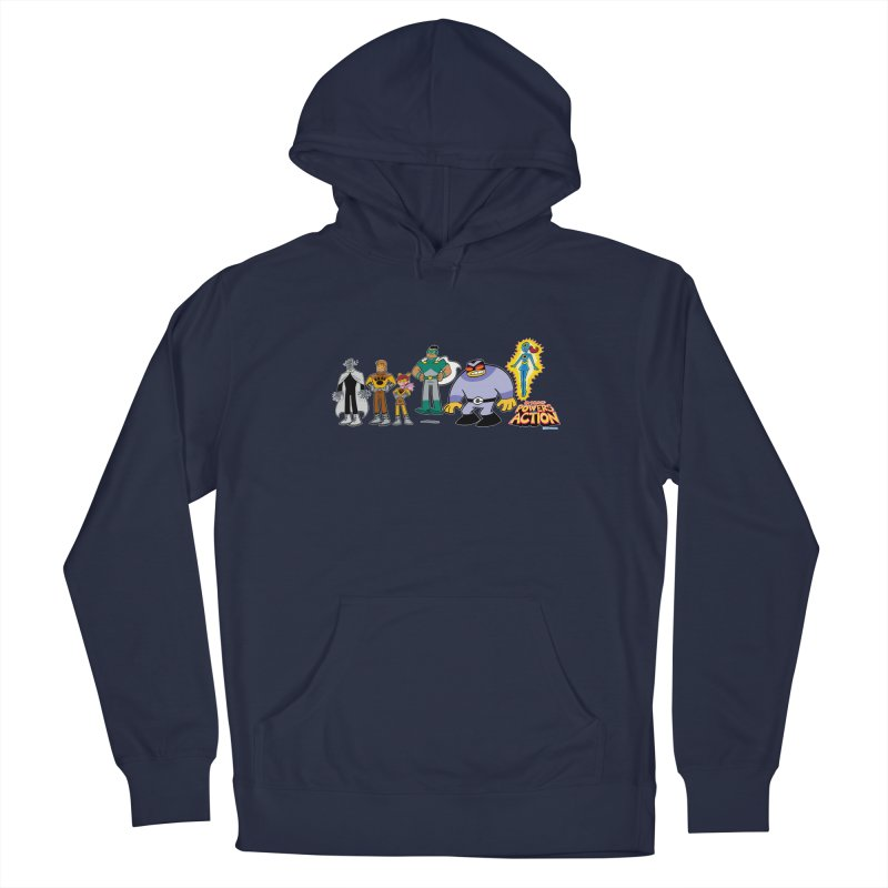 The HERO SQUADRON Line-Up! Men's Pullover Hoody by Art Baltazar